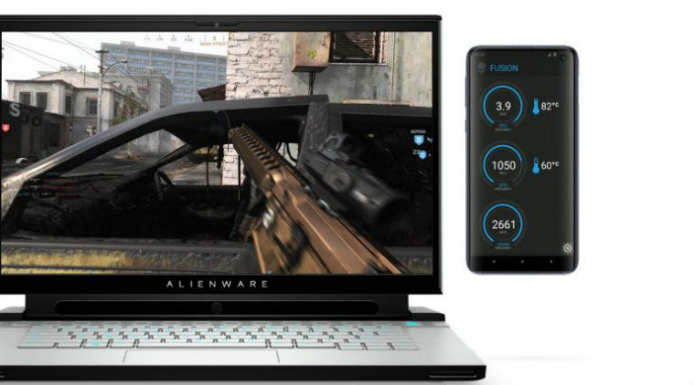 Dell, CES 2020, Dell Alienware Concept UFO, Alienware Concept UFO, Alienware Second Screen, Alienware 25 Gaming Monitor (AW2521HF), Dell G5 15 SE (Special Edition)